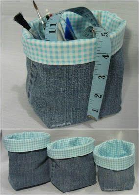 40 ideias para reciclar seus jeans velhos!
