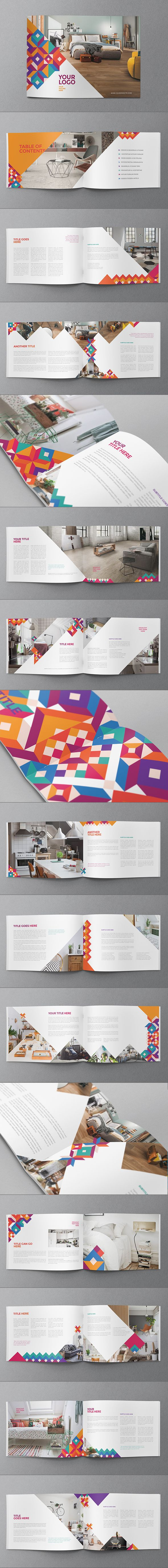 Colorful Cool Pattern Brochure. Download here: http://graphicriver.net/item/colorful-cool-pattern-brochure/12862171?ref=abradesign