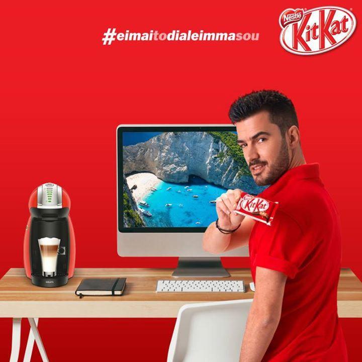 Διαγωνισμός KitKat με δώρο μία μηχανή παρασκευής καφέ και ροφημάτων Nescafe Dolce Gusto Genio! - http://www.saveandwin.gr/diagonismoi-sw/diagonismos-kitkat-me-doro-mia-mixani-paraskevis-kafe-kai-rofimaton-nescafe/