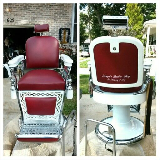 Exceptionnel $$$AVAIL CHAIRS$$$$$ : ) Antique Barber Chair Restoration Metal Finishes  Nickel And Chrome Plating, Sand Blasting, Porcelain Refinishing Or Your  Choice True ...