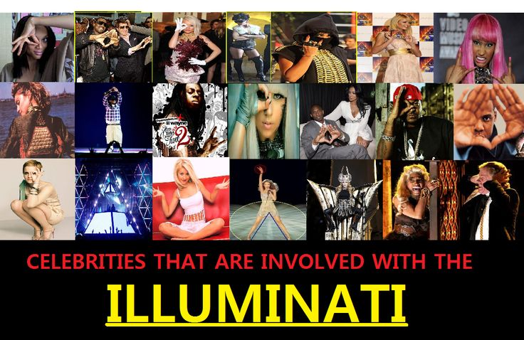 Celebrities that are involved with The Illuminati. The Illuminati  conspiracy strives hard for the existence of a totalitarian government in charge of the whole world.