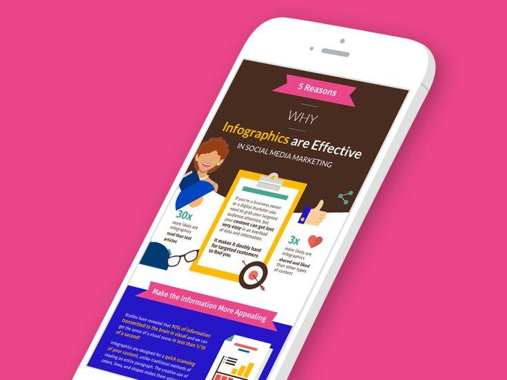 Infographics In Social Media Marketing by Simona Vorlova