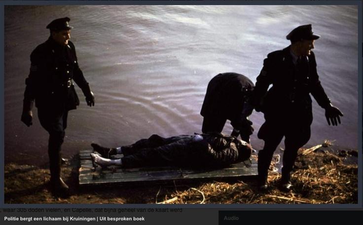 Watersnoodramp 1953 - kleurenfoto