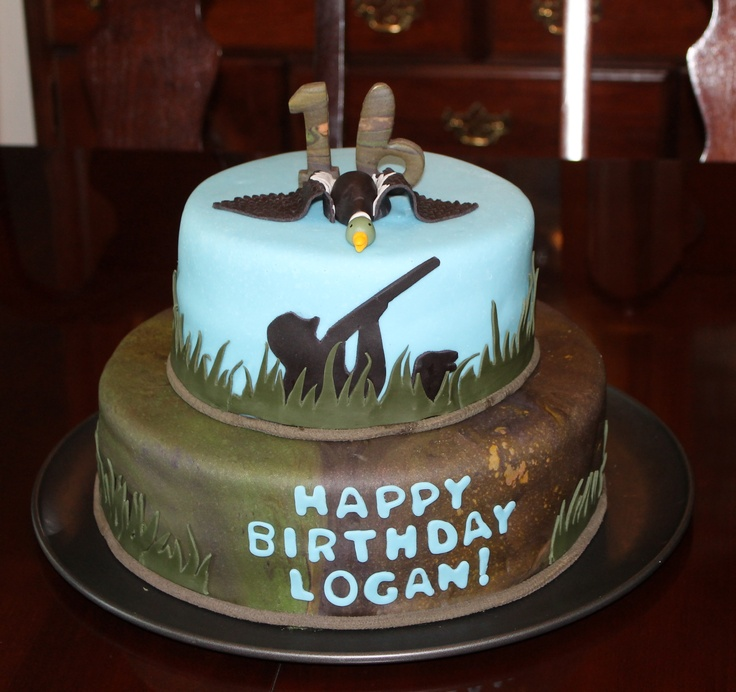 Duck Hunter Cake Hunter Pinterest Hunters Cakes And