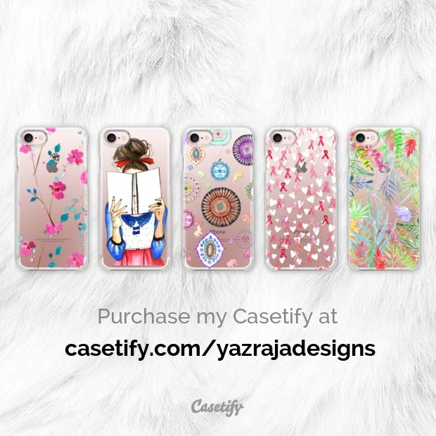 My Casetify Artist Collection available for purchase! :)
