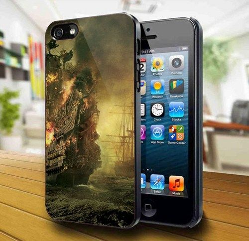 Ship Fire iPhone 5 Case   | kogadvertising - Accessories on ArtFire