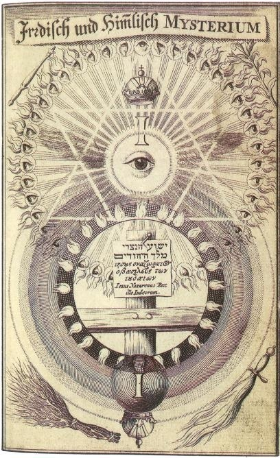 from Mysterium Pansophicum, by Jacob Bohme, 1620