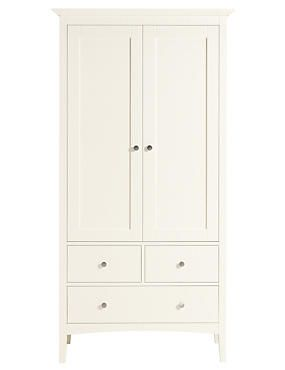 Ivory Hastings Ivory Double Wardrobe Furniture