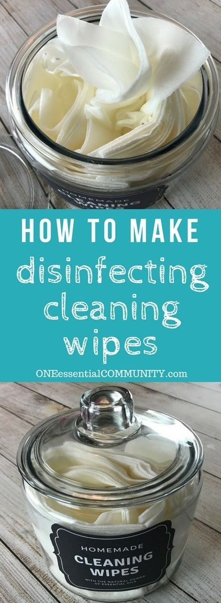 Easy all-natural essential oil cleaning wipes for kitchen counters, shopping carts, sinks, mold & mildew, bathrooms, stainless steel & more. all natural and toxic way to clean, disinfect, and sanitize. made with lemon essential oil, tea tree (melaleuca) essential oil, and eucalyptus essential oil. #essentialoilrecipe #essentialoilcleaning #essentialoilDIY