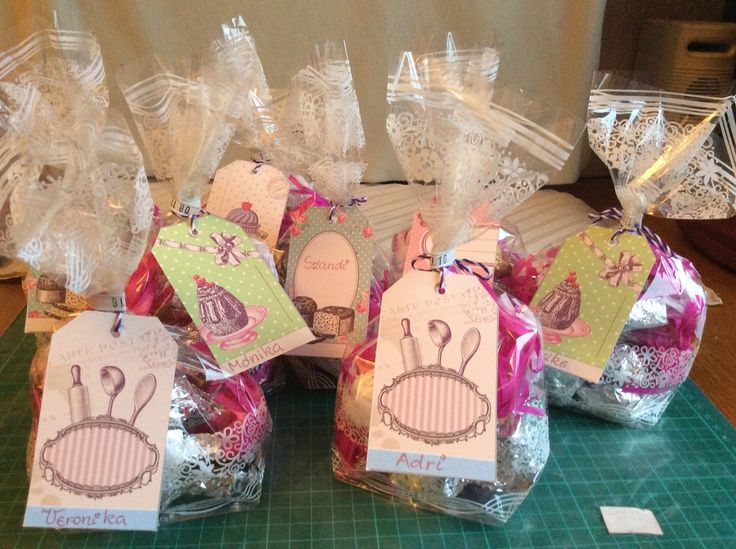 Home-made Christmas candy in gift wrapping,