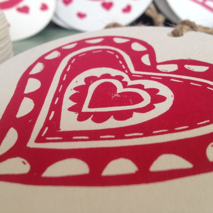 Valentines gift tags pk 5 by rubyvictoria on Etsy