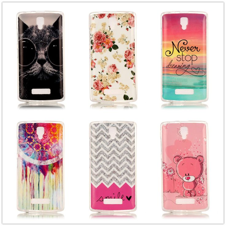 Protective Soft TPU Mobile Phone Case For Lenovo A2010 a 2010 A2580 A2860 4.5inch Painted Silicon Back Cover Shell Skin Shield