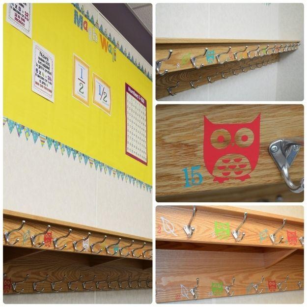 Classroom Hook Ideas ~ Images about classroom coat racks on pinterest