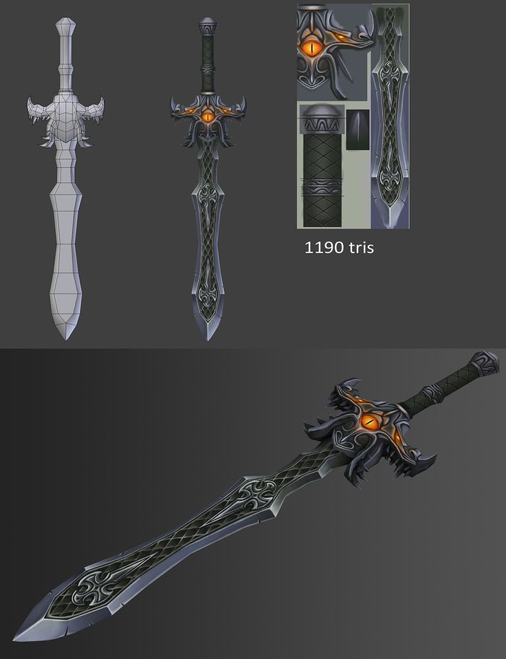 23 swords - Page 2 - Polycount Forum
