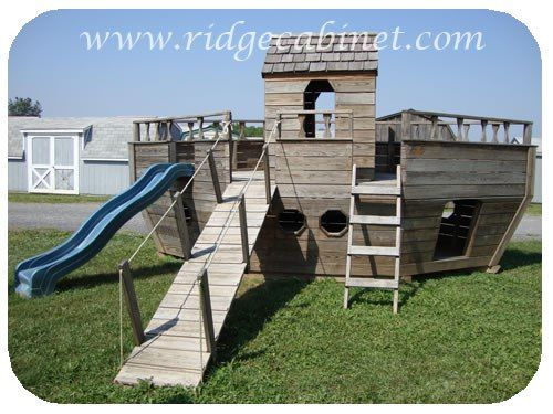 285 best pirate playground images on pinterest sandbox day care diy playset plans solutioingenieria Choice Image