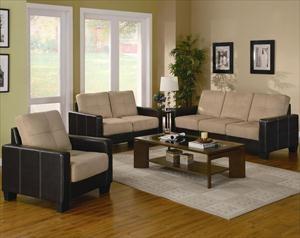 coaster three piece living room set nebraska furniture mart 54999 - Futon Living Room Set