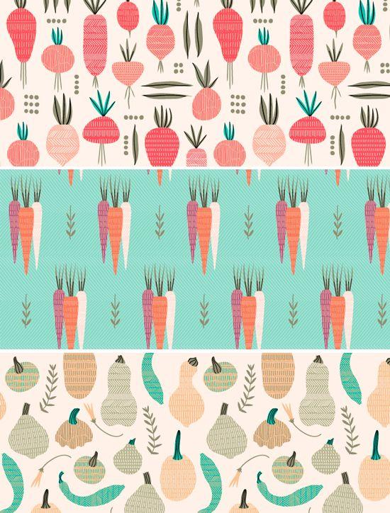 Food patterns by Elizabeth Olwen