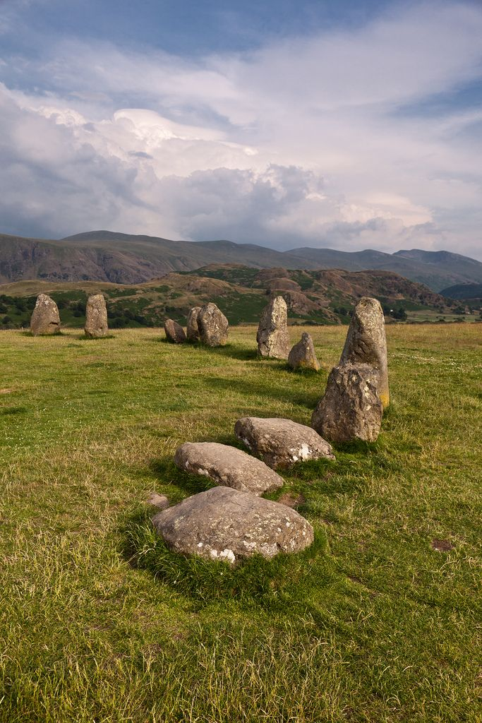 Castlerigg stone circle, Cumbria, England by Tall Guy