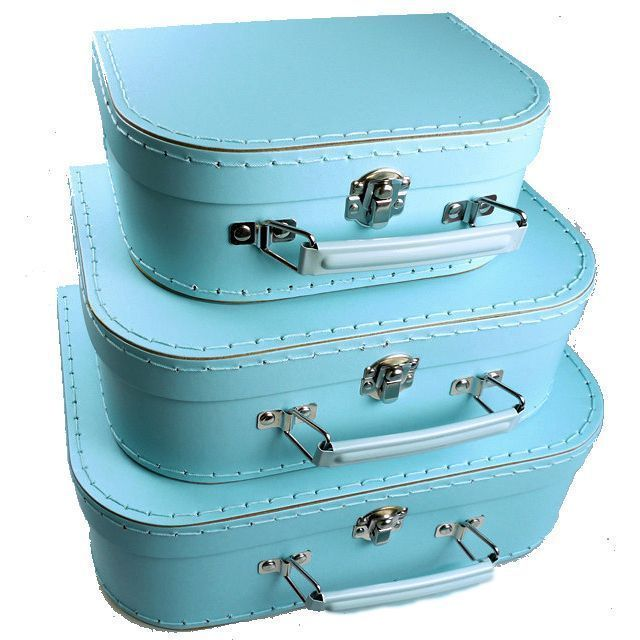 Kids Mini Suitcase Set Fabulous For Creating Displays And Can Be Used Afterwards