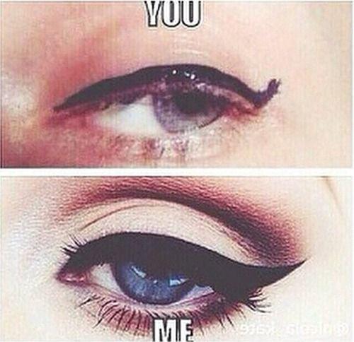 522d3f31f7c44a387f2dfb7455d0c3dd funny makeup makeup humor bad eye makeup meme saubhaya makeup