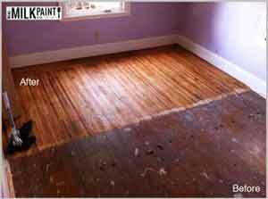 How to Finish a Floor with Pure Tung Oil tutorial. This will help with your DIY project. Read more here.