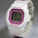 [Fukuoka SoftBank Hawks X hello kitty] CASIO Casio baby Siwe B G BABY-G clock watch wristwatch Baby-G birthday present [same day shipment] [purchase] [GB-5600Kitty-7JR]