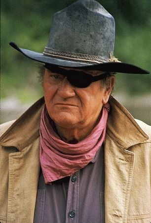 John Wayne...Pictures & Photos of Rooster Cogburn - he played many a hero