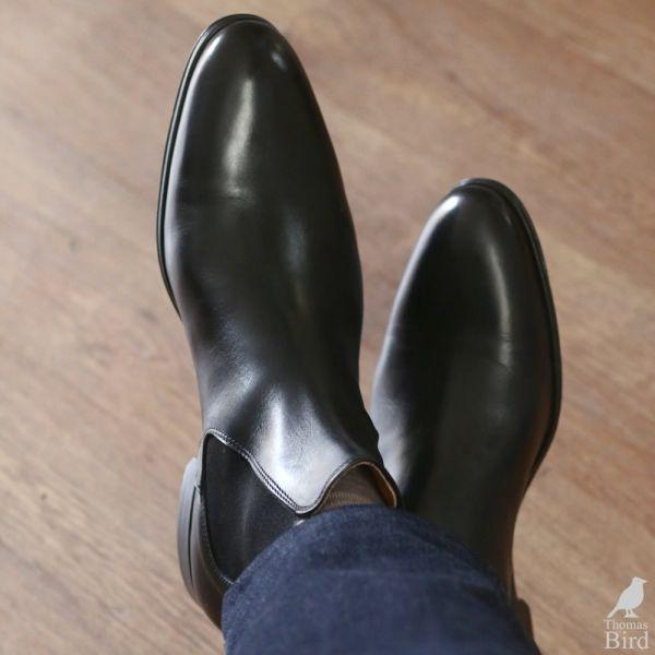 Mens Black Chelsea boots | Thomas Bird
