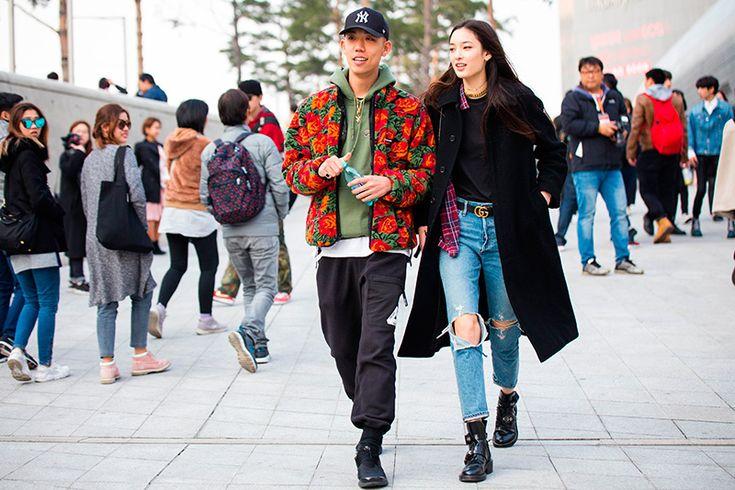 STREETSTYLE | Seoul Fashion Week FW17 - Fucking Young!