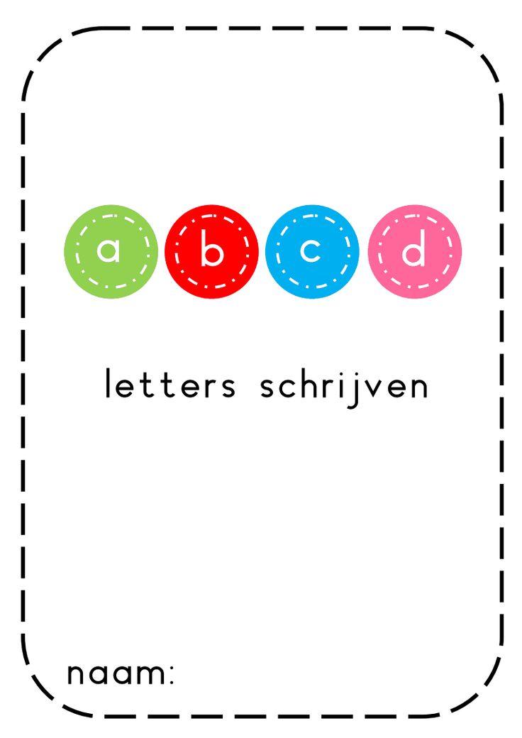 voorbereidend schrijven letters