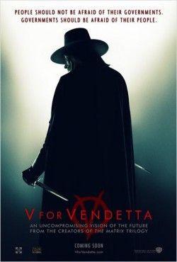 Couverture de V pour Vendetta