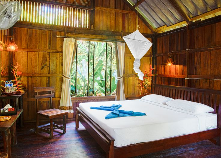Khao Sok Riverside Cottages - Thai Jungle Accommodation Enjoy the feeling  of the forest while relaxing