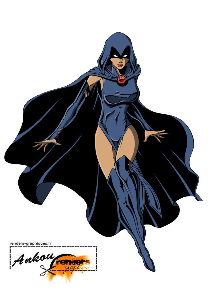 Render DC Comics - Renders Raven DC Comics