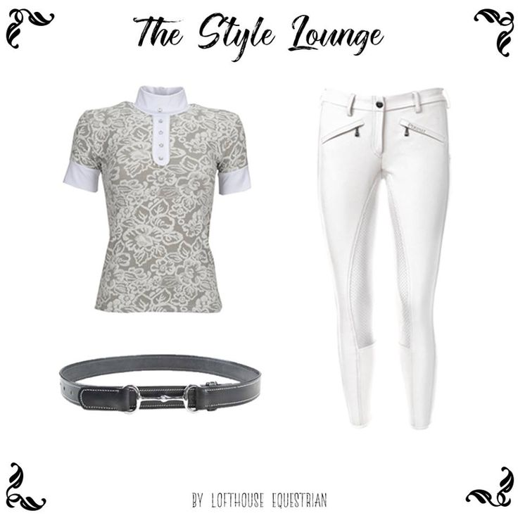 Check out our very first Style Lounge featuring Equi-Theme's baroque competition shirt, Pikeur Latina Grip Breeches and HKM Snaffle bit belt! All the best equestrian fashion! #classy