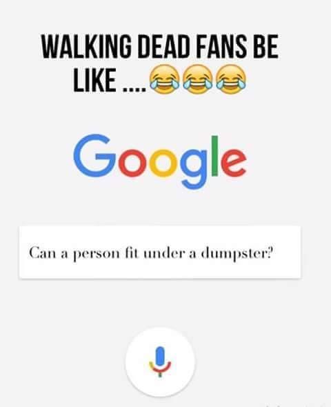 The Walking Dead funny meme. Glenn can...I hope