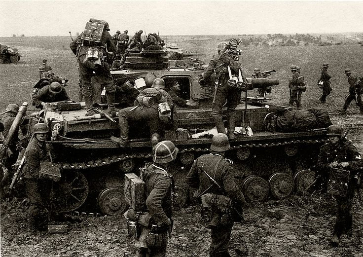 Image result for ww2 german soldiers with tank