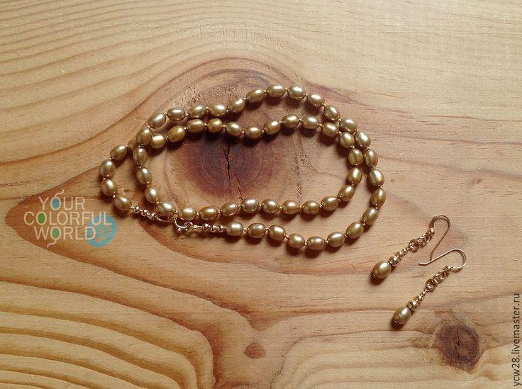Купить Благородное золото / бусы // Noble Gold / Bead