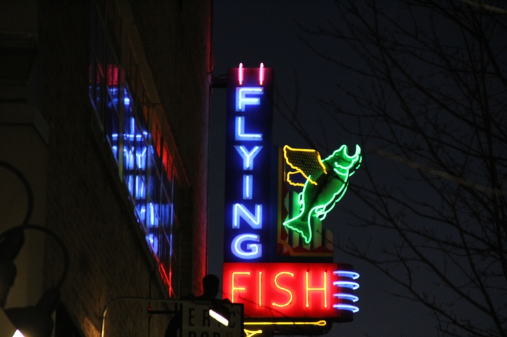 flying fish little rock neon and other bright lights