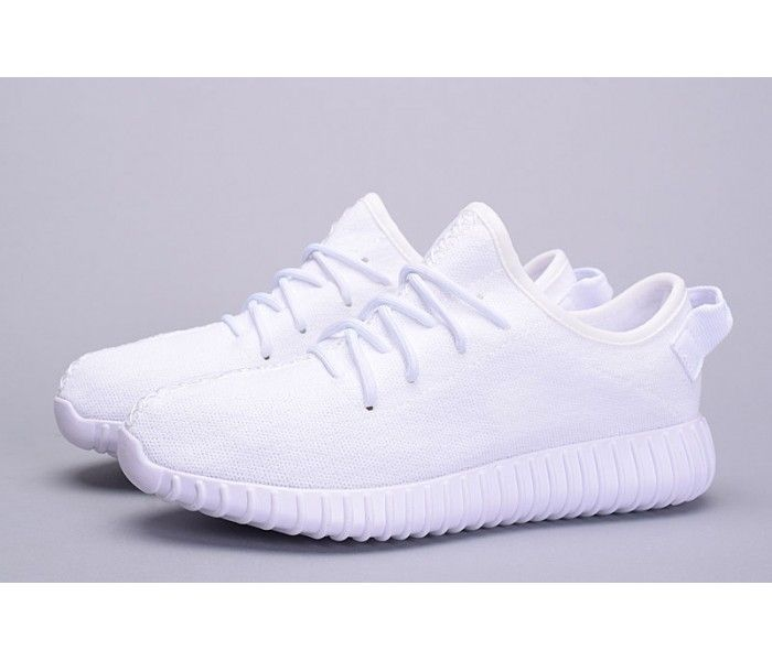 Yeezy Boost 350 is Developed by Kanye West, is fashion, popular, comfortable low top shoes. there are money people ask white color Yeezy Boost 350. So our company release this fake white Yeezy Boost 350, hope you like it.