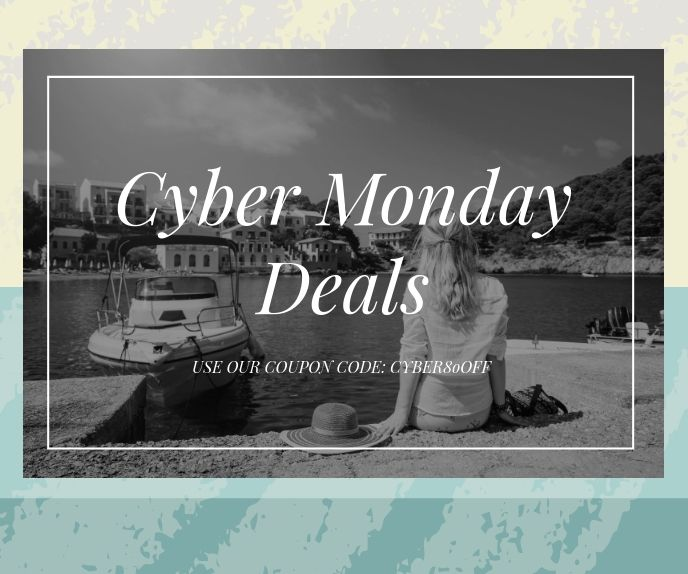 Cyber Monday Special Deal Advertisement In 2020 Black Friday Flyer Black Friday Black Friday Ads