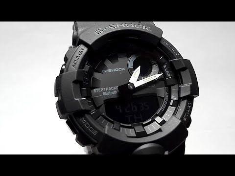 71503670f29cbc Casio G-SHOCK GBA-800-1A Bluetooth watch video 2018   Watches ...