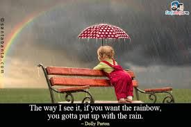Image result for quotes about rainbows