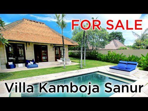 Villa Kamboja Sanur - YouTube