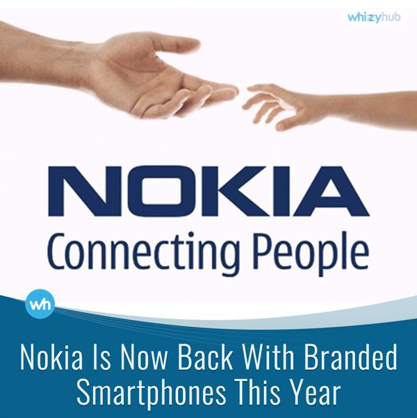 NOKIA IS NOW BACK WITH BRANDED SMARTPHONES THIS YEAR #ANDROID #APPLE #BRAND #COMPANY #FEATURES #LATEST #LAUNCH #MOBILE #NOKIA #SAMSUNG #SMARTPHONE #TECHNOLOGY Read more: http://whizzyhub.com/nokia-is-back-with-branded-smartphones-this-year/