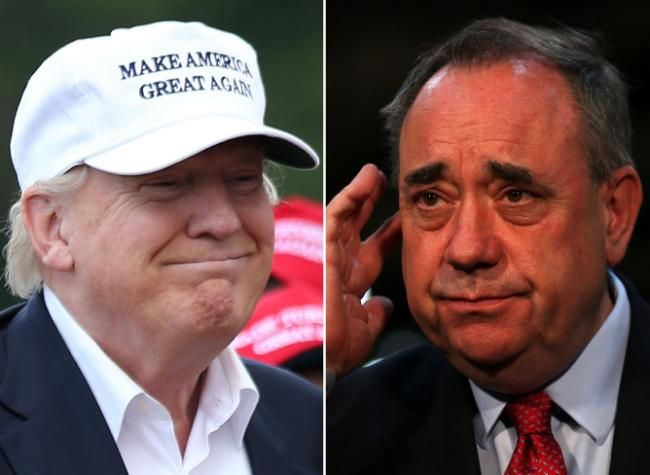 Donald Trump portrayed himself as 'saviour of Scotland' in letter to Alex Salmond - Herald Scotland