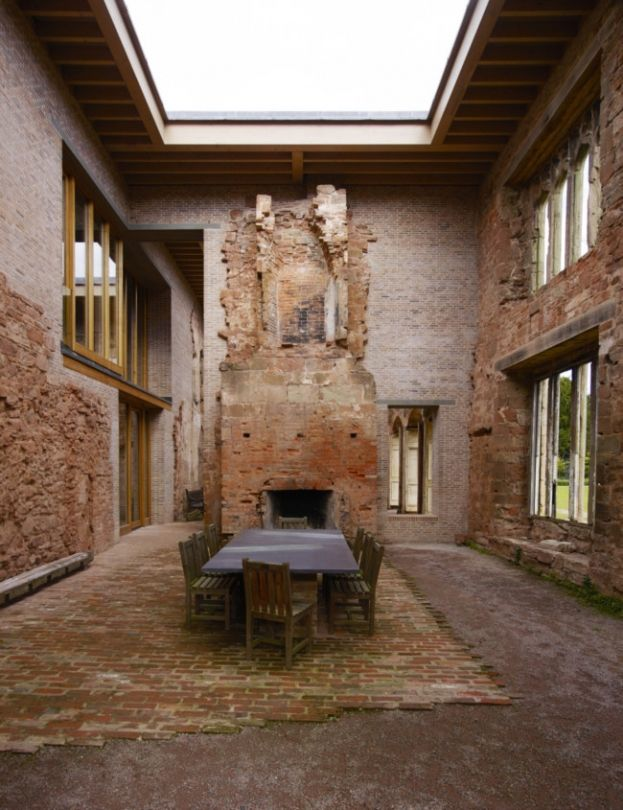 Dining Room   Astley Castle, England   Witherford Watson Mann Architects (2013)   Photo: Richard Powers