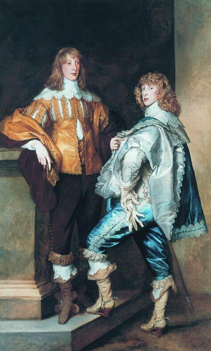 Антонис Ван Дейк - Лорд Джон Стюарт и его брат, лорд Бернард Стюарт