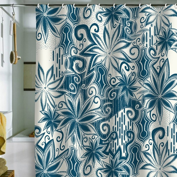 Have to have it. DENY Designs Khristian A Howell Moroccan Mirage 1 Shower Curtain $89.00