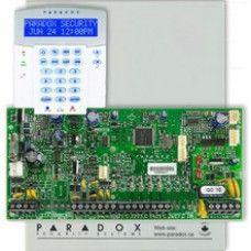 Centrala EVO192 + tastatură K641LX + cutie metalica cu traf