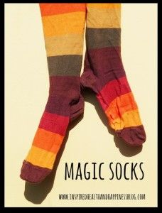 Not feeling well?  GIve my Quick Tip:  Magic Socks Remedy a try!  « Inspired Health & Happiness